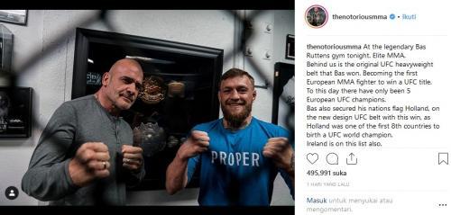 Conor McGregor (Foto: Instagram)
