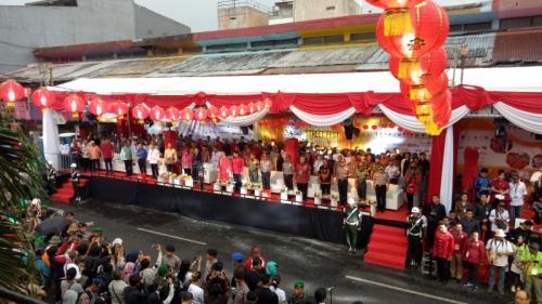 Kemeriahan Perayaan Cap Go Meh di Bogor (Foto: Putra RA/Okezone)