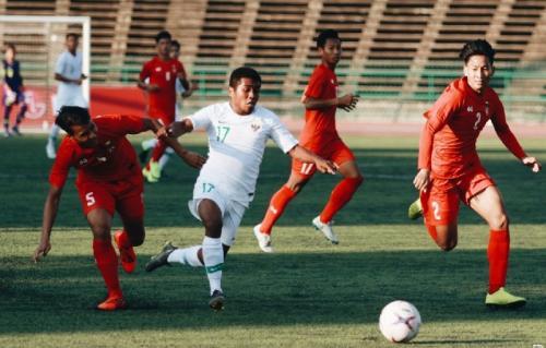 Hitunghitungan agar Timnas Indonesia Lolos ke Semifinal Piala AFF U22 2019 : Okezone Bola