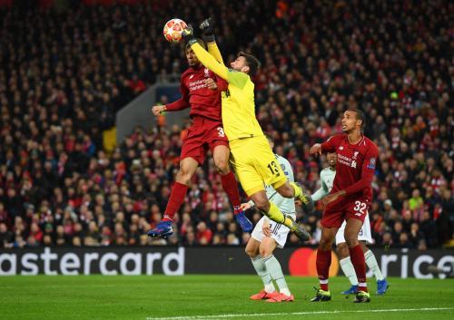 Liverpool vs Napoli (Foto: UEFA)