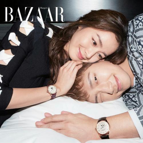 Kim Tae Hee dan Rain.