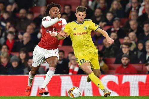 Arsenal vs BATE (Foto: UEFA)