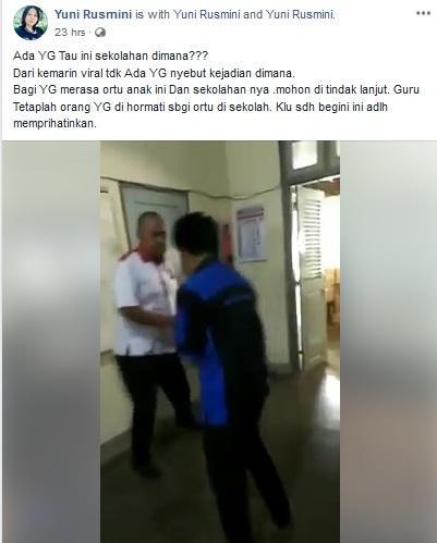 Murid Bully Guru karena HP Disita (FB)