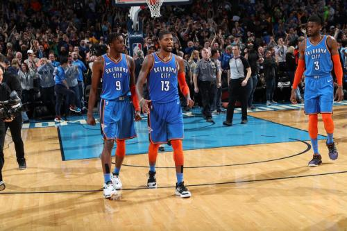 Oklahoma City Thunder (Foto: Twitter NBA)