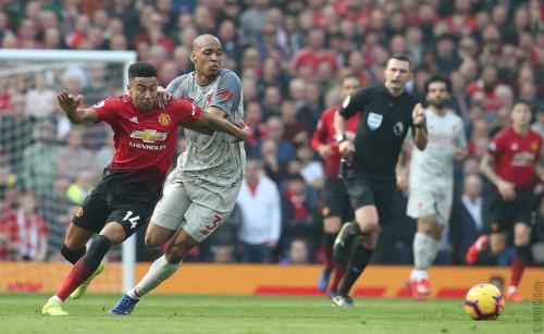 Man United vs Liverpool (Foto: Twitter Premier League)