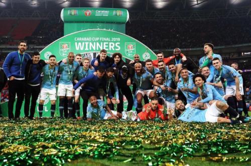Manchester City juara Piala Liga Inggris 2018-2019 (Foto: Man City/Twitter)