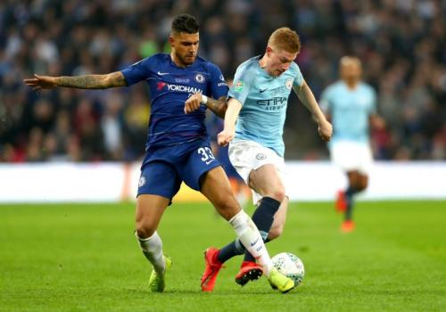 Manchester City vs Chelsea (Foto: Twitter Chelsea)
