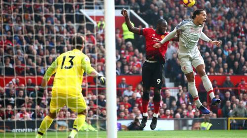 Man United vs Liverpool (Foto: Twitter Man United)