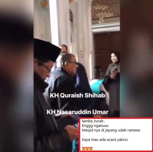 Quraish Sihab dan Profesor Nasaruddin Umar