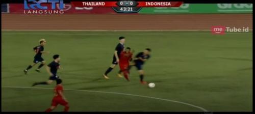 Timnas Indonesia U-22 vs Thailand (Foto: MNC Media)