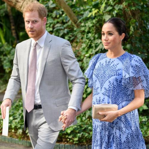Pakai Long Dress Biru Di Maroko, Aura Keibuan Meghan