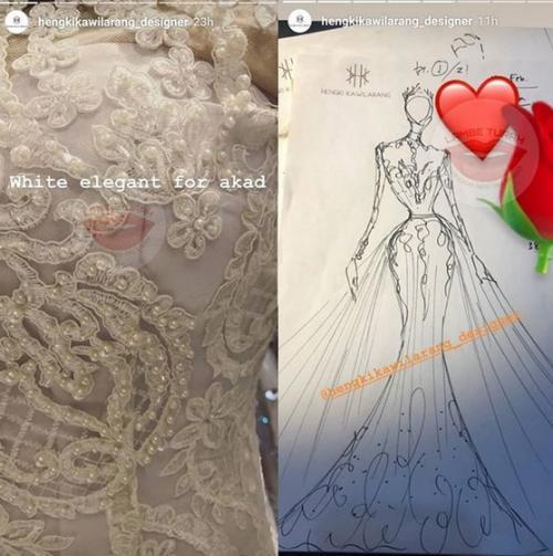 Inikah Desain Gaun Pengantin Syahrini Okezone Lifestyle