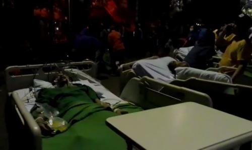 Pasien RSUD Kota Tangerang Dievakuasi