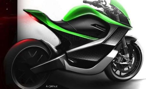 salah satu motor konsep Kawasaki