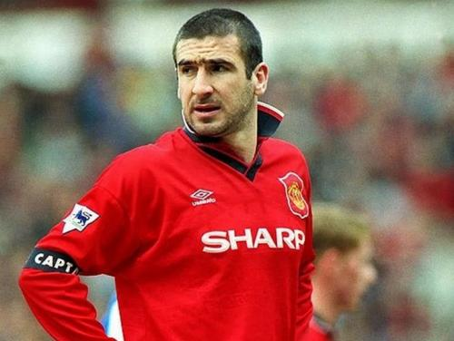 Eric Cantona meraih banyak kesuksesan di Inggris