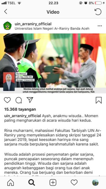 Foto/Facebook UIN Aceh