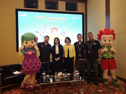 Tak hanya di dalam negeri, program animasi Kiko juha dijadwalkan tayang di Brasil pada 19 April 2019. (Foto: MNC Group)