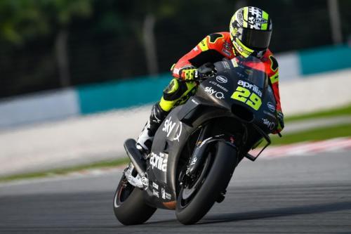 Andrea Iannone (Foto: Laman resmi Aprilia Racing)