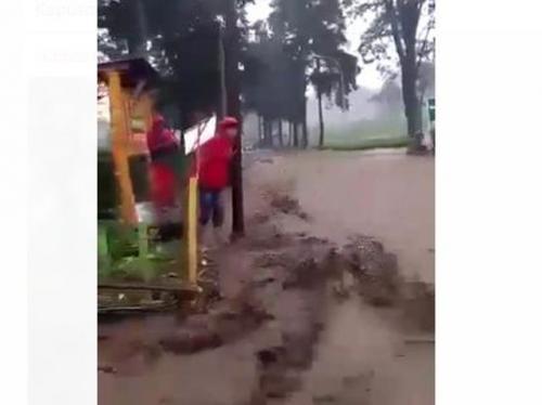 Banjir bandang di Pengalengan
