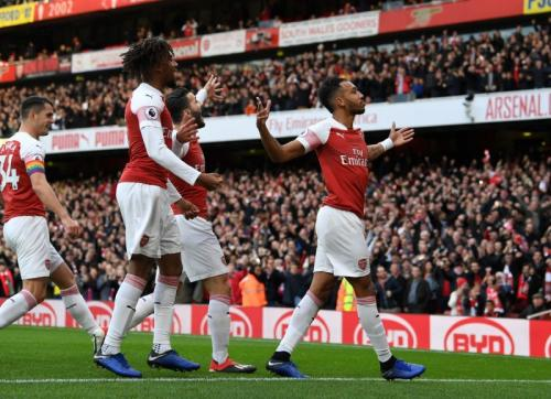 Arsenal (Foto: Twitter resmi Arsenal)