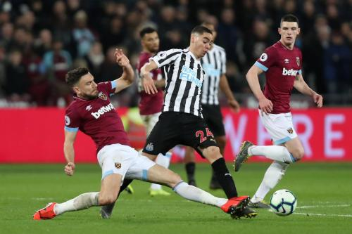 West Ham United vs Newcastle United (Foto: Twitter Premier League)