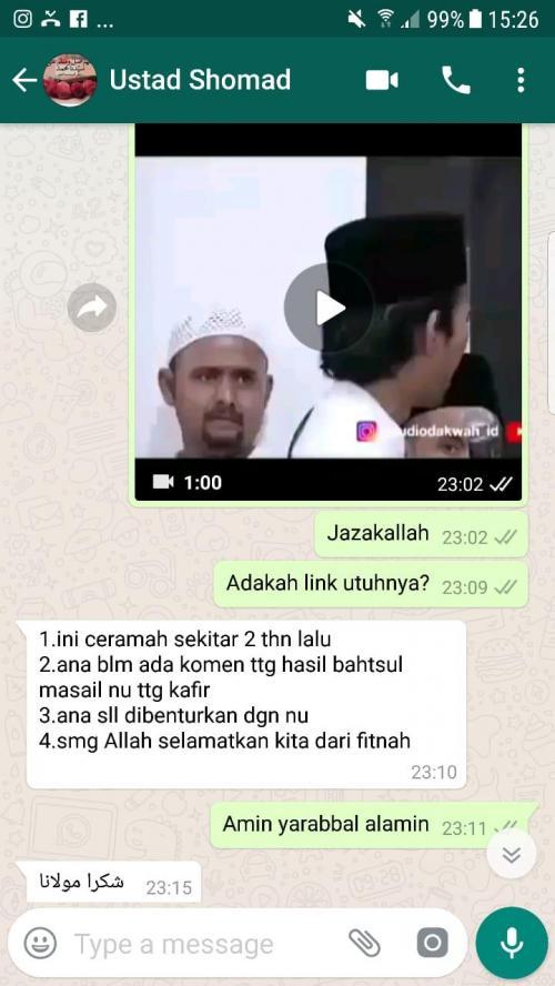 Klarifikasi Ustaz Abdul Somad (UAS) soal Video Ceramah yang Membahas soal Kafir dan Non Muslim (Foto: Ist)