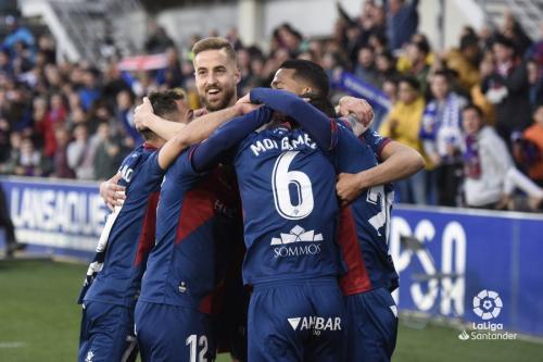 Huesca vs Sevilla (Foto: Twitter La Liga)