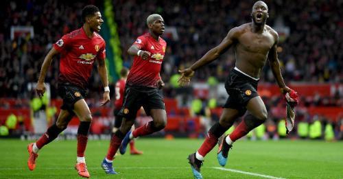 Romelu Lukaku (Foto: Twitter Man United)