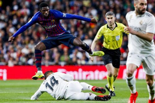 Real Madrid vs Barcelona (Foto: Twitter La Liga)