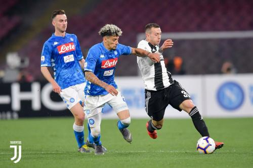 Napoli vs Juventus (Foto: Twitter Juventus)