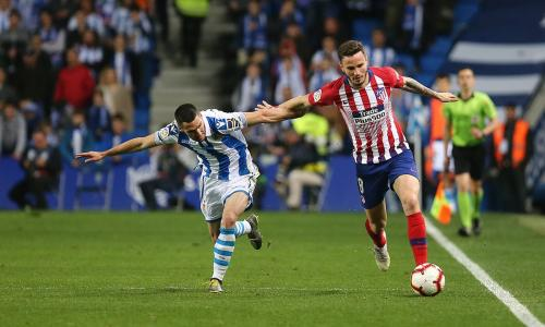 Real Sociedad vs Atletico Madrid (Foto: Twitter Atletico)