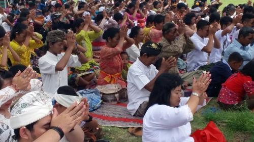 Ilustrasi Perayaan Nyepi