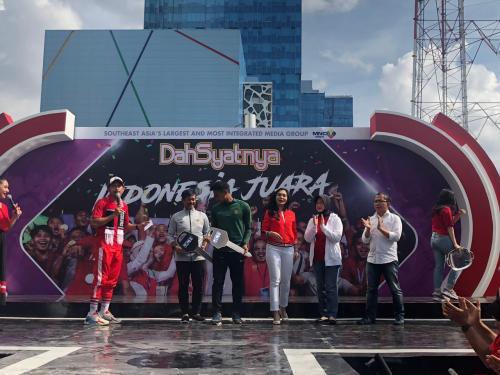 Timnas Indonesia U-22 dapat hadiah