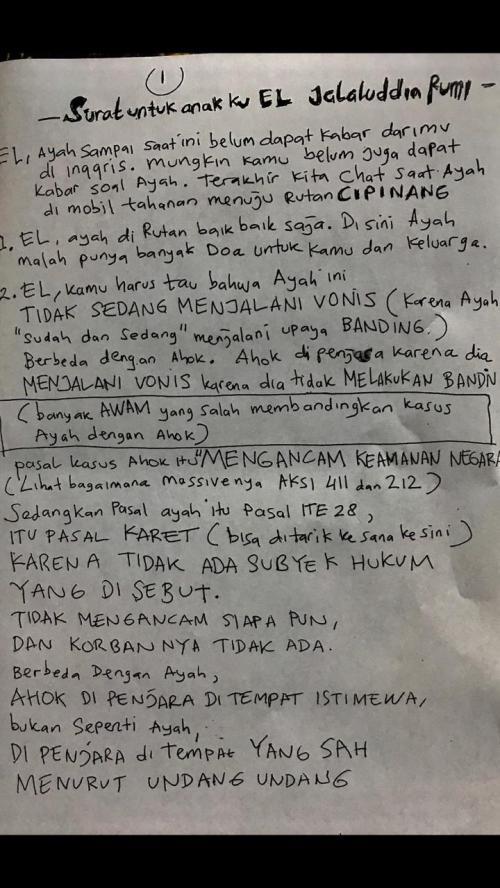 Surat Ahmad Dhani