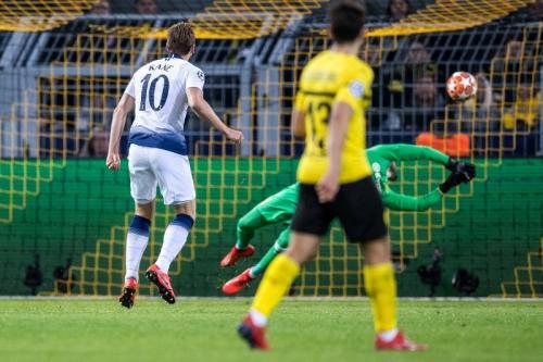 Harry Kane mencetak gol tunggal di menit ke-48 (Foto: laman resmi Liga Champions)