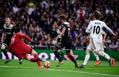 Real Madrid vs Ajax (Foto: UEFA)