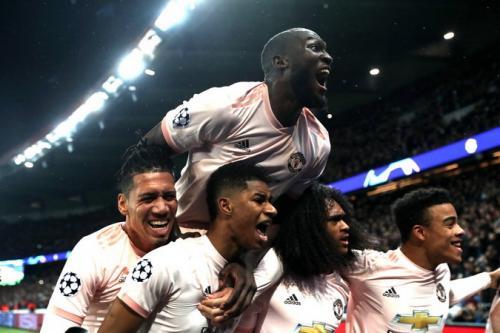 PSG vs Manchester United (Foto: UEFA)