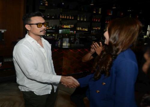 Denny Sumargo dan DJ Verny Hasan