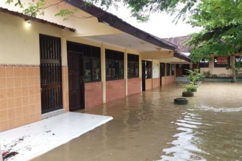 Banjir Luapan Sungai Bengawan Solo