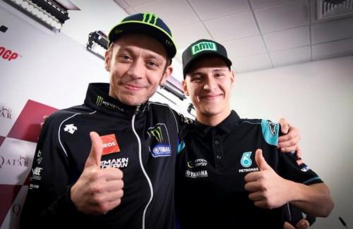 Valentino Rossi dan Fabio Quartararo