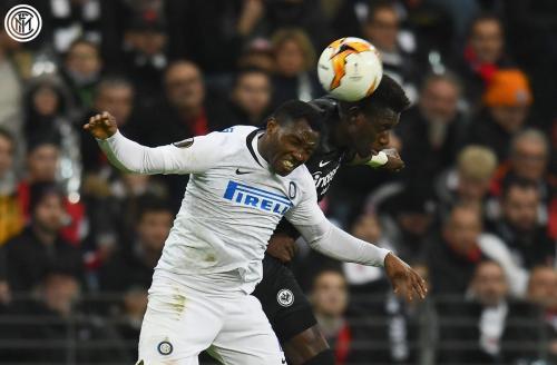 Eintracht Frankfurt vs Inter (Foto: Twitter Inter)