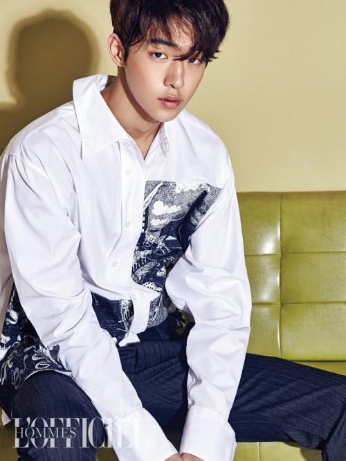 Nam Joo Hyuk akan menjadi lawan main Suzy dalam Sandbox. (Foto: L'Officiel Hommes)