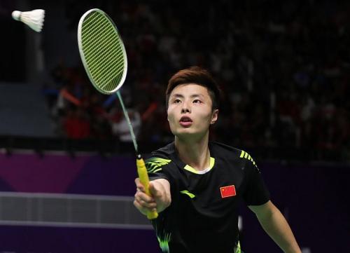 Tunggal putra China, Shi Yuqi