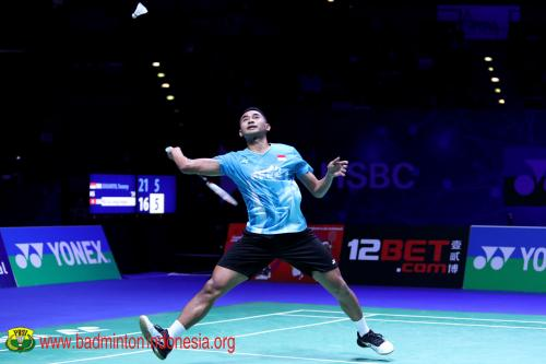 Tommy Sugiarto ke babak kedua China Open 2019