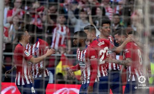 Atletico Madrid (Foto: Twitter Liga Spanyol)