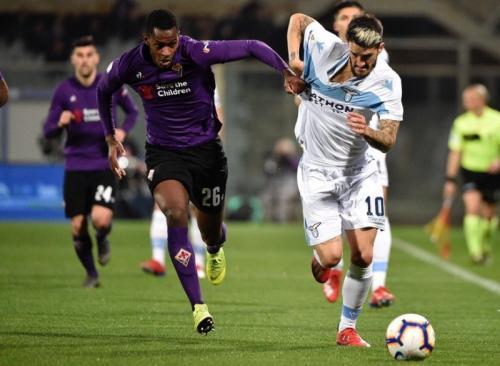 Fiorentina vs Lazio (Foto: Lazio/Twitter)