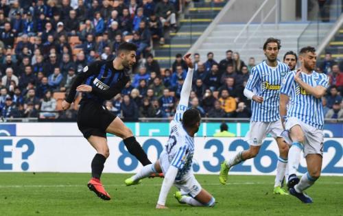 Inter Milan vs SPAL (Foto: Laman resmi Inter Milan)