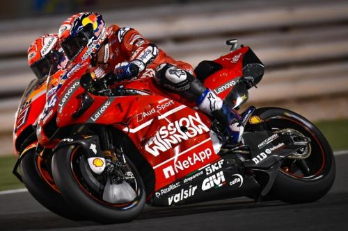 Andrea Dovizioso vs Marc Marquez (Foto: Laman resmi MotoGP)