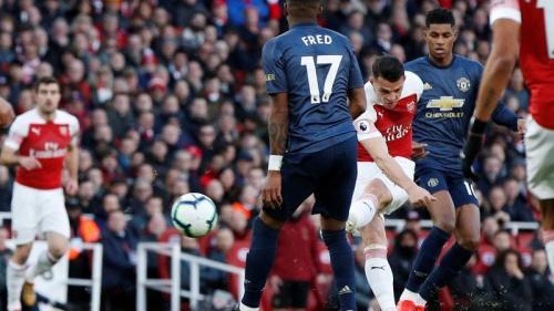 Arsenal vs Manchester United (Foto: Twitter Premier League)