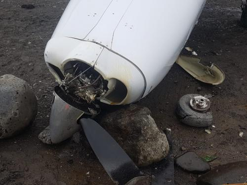 Pesawat Dabi Air kecelakaan